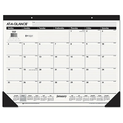 AT-A-GLANCE Ruled Desk Pad 22 x 17 2019 SK2400