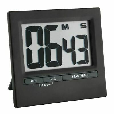 TFA Dostmann 38.2013.01 Electronic Timer and Stopwatch with Large Display Front