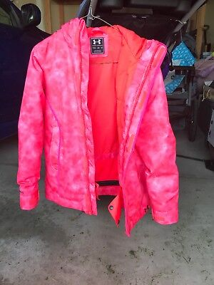 Youth Under Armour ColdGear Infared Pink YM NWT No Zipper