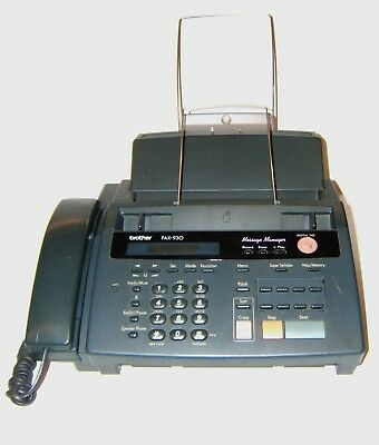 Fax Machine & Phone, Brother Fax-930 has a fault selling for only £17