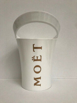 Moet & Chandon Ice Imperial Champagne White Acrylic Ice Bucket Cooler!