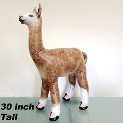 Jet Creations Inflatable 30 inch H Alpaca Animal Zoo Collection