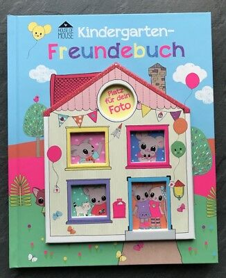 Depesche Kindergarten Freundebuch House of Mouse Neu