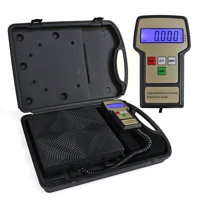F2C Refrigerant Digital Electronic Charging Weight Scale 220 Lbs For Hvac