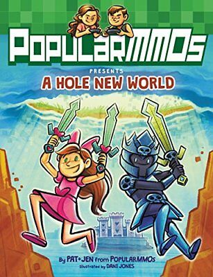 Popularmmos Presents a Hole New World by Popularmmos Hardcover Book Free Shippin