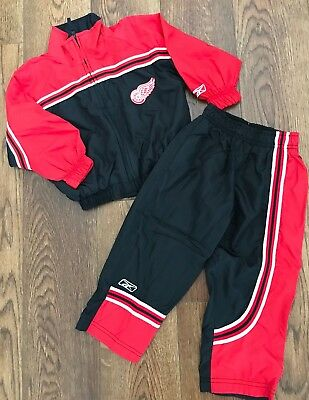 Red Wings Reebok 2T Toddler Track Suit