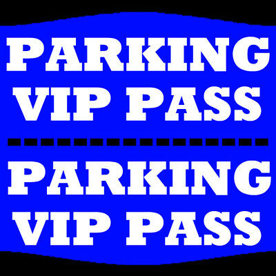 Weezer 7/6 Parking Pass Riverbend Music Center Cincinnati