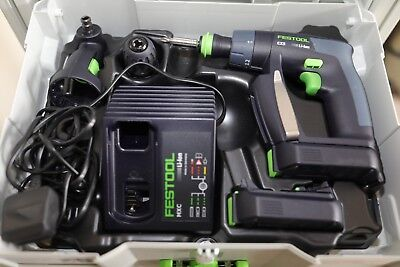 Festool CXS LI 2.6 10.8v Cordless Drill Driver 2 x 2.6ah in Systainer