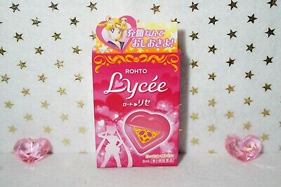 Rohto Lycee Lycée x Sailor Moon Limited Edition Heart Shape Eye Drops 8ml JAPAN