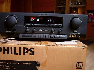 Philips Surround Receiver FR 940 Musikleistung 250 W Top Rarität !