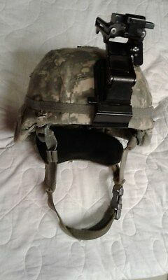 New Condition ACH - ADVANCED COMBAT HELMET US ARMY MILITARY GENTEX Size MEDIUM