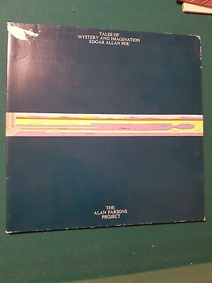 Lp - Alan Parson Projet = Tales Of Mystery And Imagination Edgar Allan Poe .1976