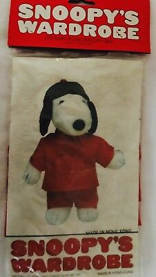 SNOOPY Outfit: #4927 3 piece Chinese custome, NEW
