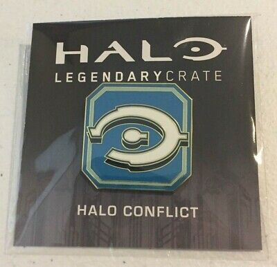 Loot Crate Exclusive Halo Legendary Crate Pin Halo Conflict CE