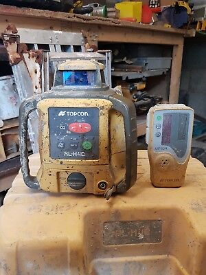 Topcon RL-H4C Rotating Laser Level With Receiver