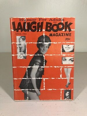 60s Laugh Book Magazine ADULT HUMOR cheeky LOT (14) wichita playboy