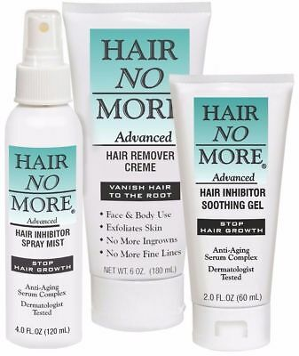 Hair No More Advanced Hair Removal (3 Piece Kit)