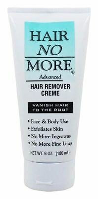 Hair No More Advanced Hair Remover Cream 6 oz.
