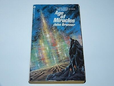 Age Of Miracles - John Brunner - Ace Books 1973 1St Pbo Sci-Fi Sf