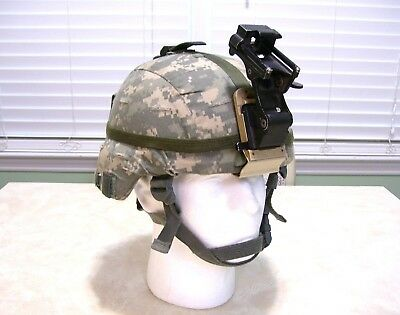 Usgi Msa Level Iiia Mich Ach Advanced Combat Helmet With Extra's - Large