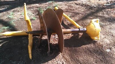 "Danuser MODEL F8 post hole digger with large 30"" auger, 3 pt.  PTO"
