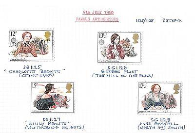 July 1980 FAMOUS AUTHORESSES - Complete set USED