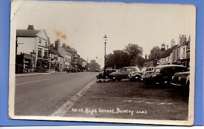 Old Vintage Rp Postcard High Street Bawtry Yorkshire
