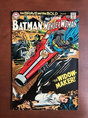 The Brave and the Bold #87 (1969) 7.0 FN DC Key Issue Batman Wonder Woman Silver