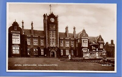 Old Vintage Rp Postcard Royal Orphanage Wolverhampton Staffordshire
