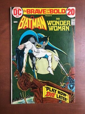 Brave And The Bold #105 (1970) 7.0 FN DC Key Issue Comic Batman Wonder Woman