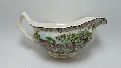 Johnson Brothers Mill Stream Gravy Boat Made In England