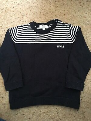 Infant Boys Hugo Boss Jumper Age 2 (small fitting - 18 Months)