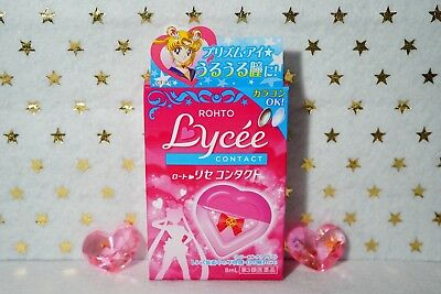 Rohto Lycee Lycée Contact x Sailor Moon Limited Edition Eye Drops 8ml  JAPAN