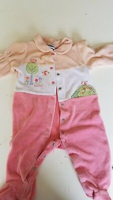 baby girl clothes 3-6 months used