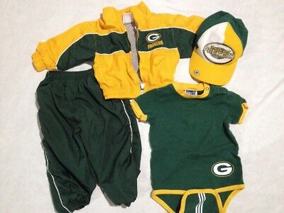 b46c78a4ca7f NFL BABY BOYS Green Bay Packers Bodysuit and Pants Set - 3 6 Months ...