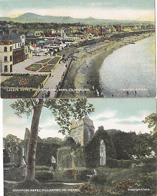 """26 Postcards Ireland from the REIS """"Hibernian """" Series of cards."""