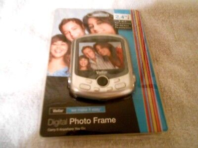 Vivitar Digital Photo Frame New Carry Anywhere Plays Slide Shows See Descr.