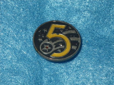 WWII Occupation 5th Air Force Patch DI/DUI, Japanese-made, Painted, SB