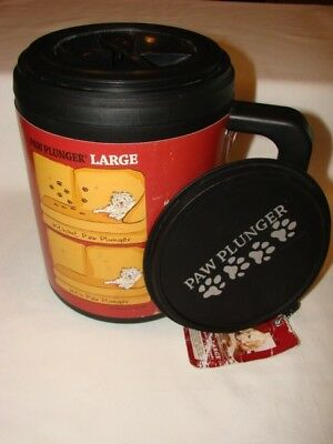 Paw Plunger Portable Dog Paw Washing Bucket Size Large New With Tags Excellent!