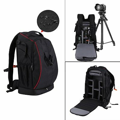 Super Large Digital Camera Bag Backpack Photo SLR DSLR Case for Nikon Sony Canon