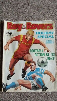 Roy of The Rovers Holiday Special Comic 1990