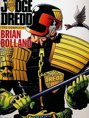 JUDGE DREDD COMPLETE BRIAN BOLLAND HC comics collection IDW 2012 Kirchoff 126442