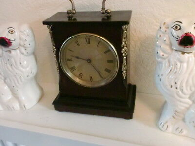 8Day French Mantle Clock With New Swiss Escapement