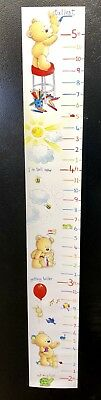 Kids Growth Chart Children Room Decor Wall Hanging Height Measure Child Animals