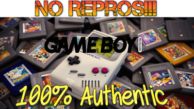 Lot of Nintendo GameBoy, Games (100% Authentic) Genuine GBA Color Game Boy GBC