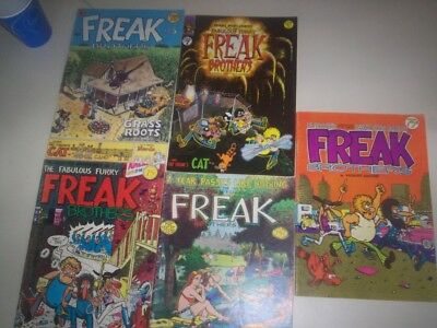 Freak Brothers Collection (5 issues)