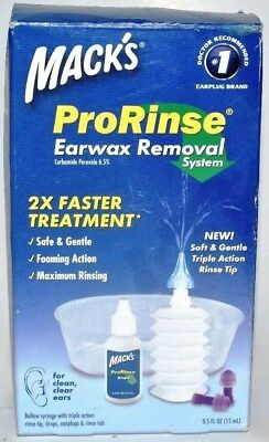 Mack's ProRinse Earwax Removal System, 0.5 fl oz - 1 Kit