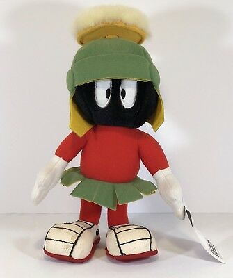 Warner Bros. Studio Store Plush Character Marvin the Martian (1995) Posable! 12""