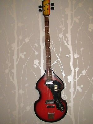 Odessa Bass Guitar Ussr Soviet Vintage And Rare