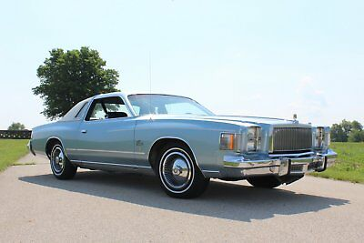 1979 Chrysler Cordoba Base 1979 Chrysler Cordoba
